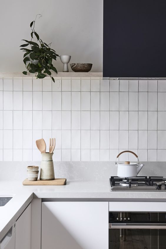 Bicker Design | Tiles - Handmade Subway tile laid vertically