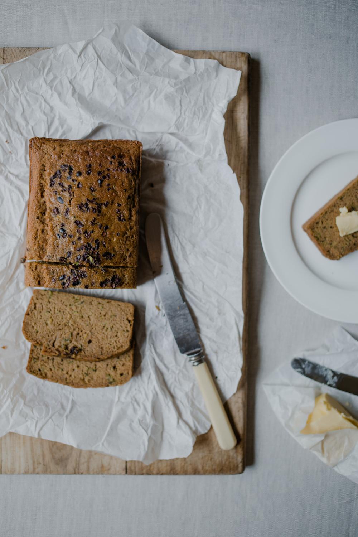 Gluten free buckwheat zucchini bread by Tammie Joske