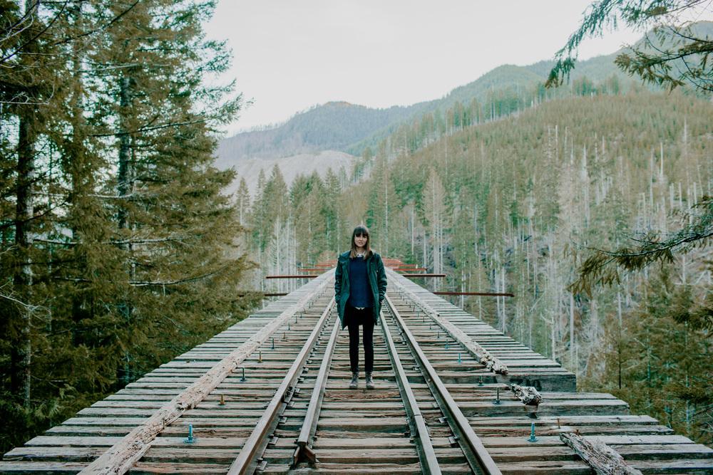 Vance Creek Bridge, PNW / Tammie Joske Travel Blog