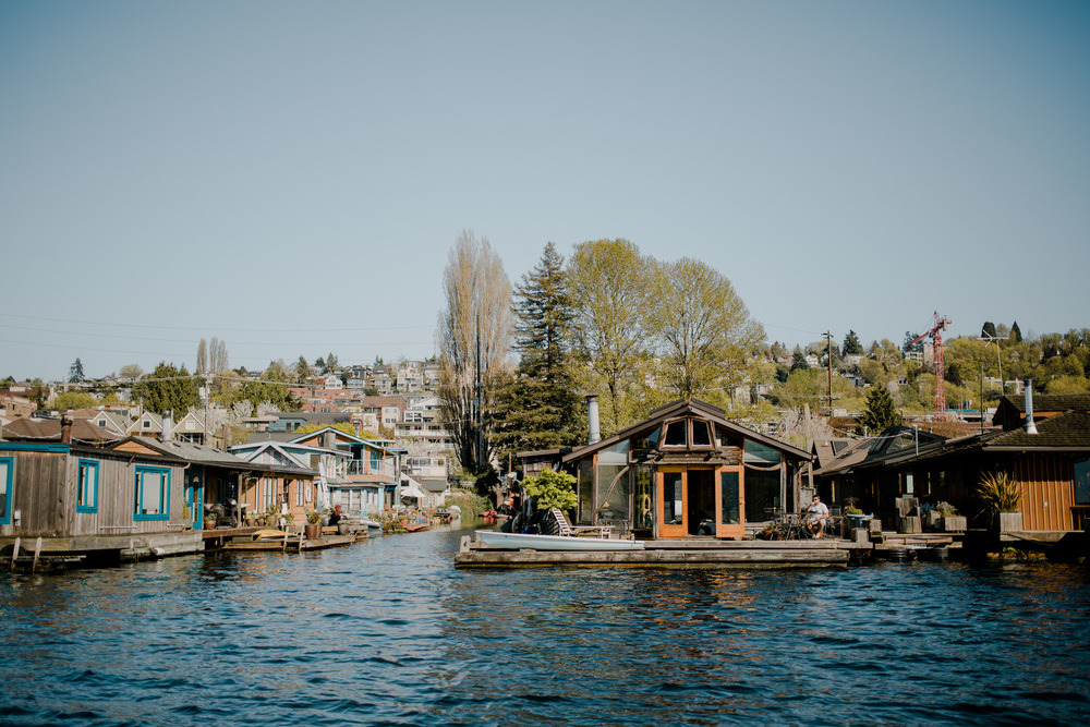 Seattle Houseboats / Travel Log: Seattle Sailing + A Video