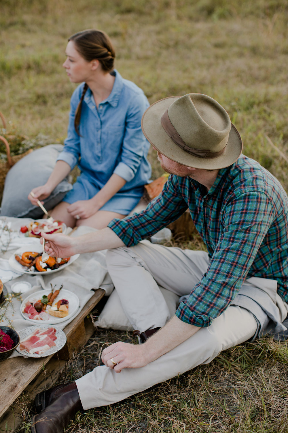 Rustic fall picnic featured on Inspired by This | Photographer: Tammie Joske