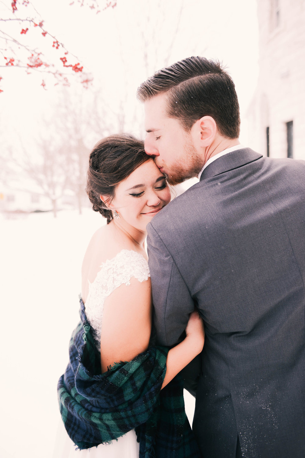 Winter 2017: Got married and worked in the Waterloo Community School District.