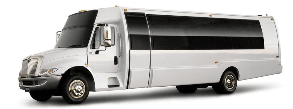 Party Buses - 16-38 passenger Limo Party Buses also available. Inquire for details.