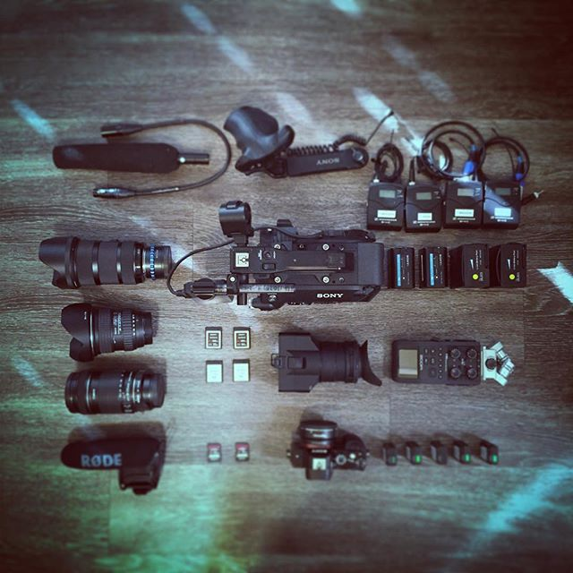 Obligatory top-down camera prep picture
