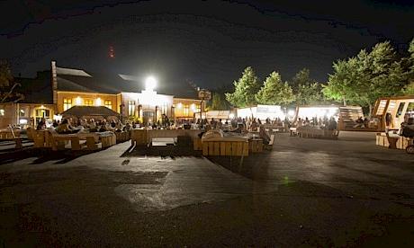 Die Nachtung 2014 am Theaterfestival bei der Kaserne Basel. Foto: Nicolas Gysin
