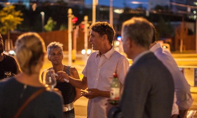 Die Nachtung 2015 beim Conto 4056. Foto: Nicolas Gysin