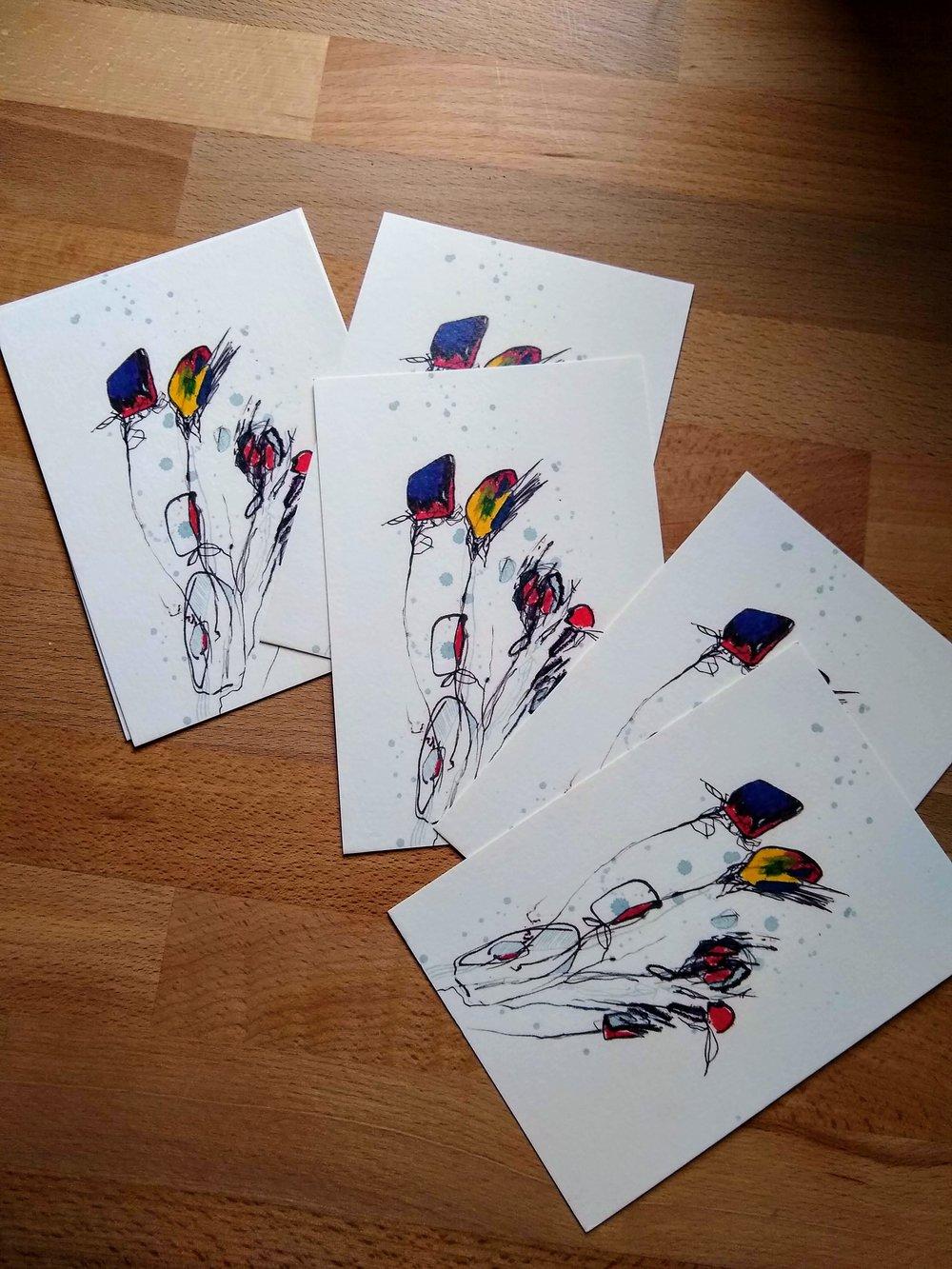 Garreth Broke Dance EP Postcards Anna Salzmann