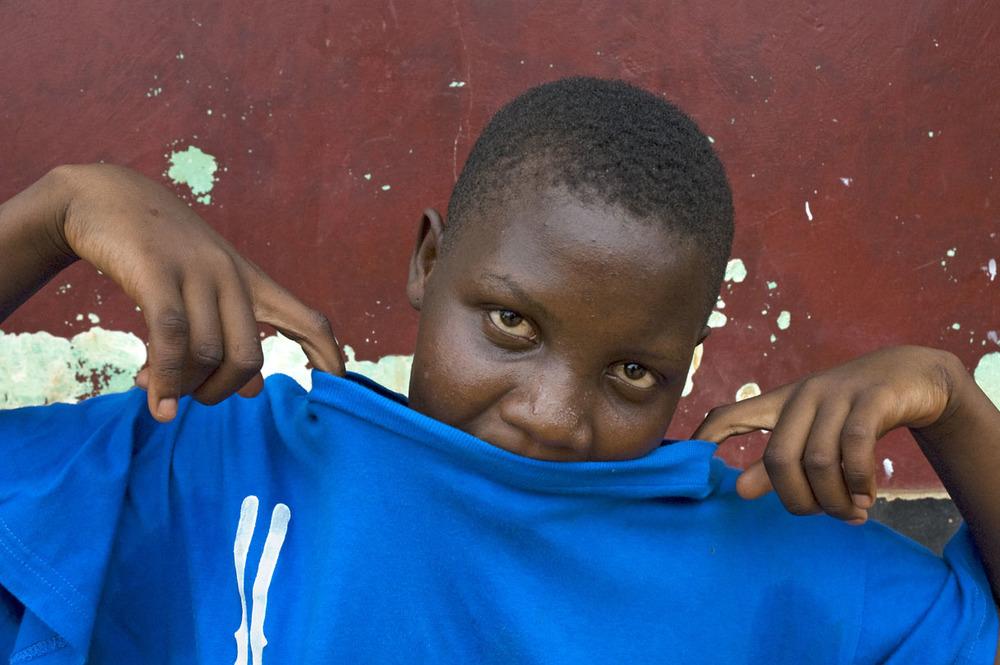 Silvia in Kampala, Uganda.
