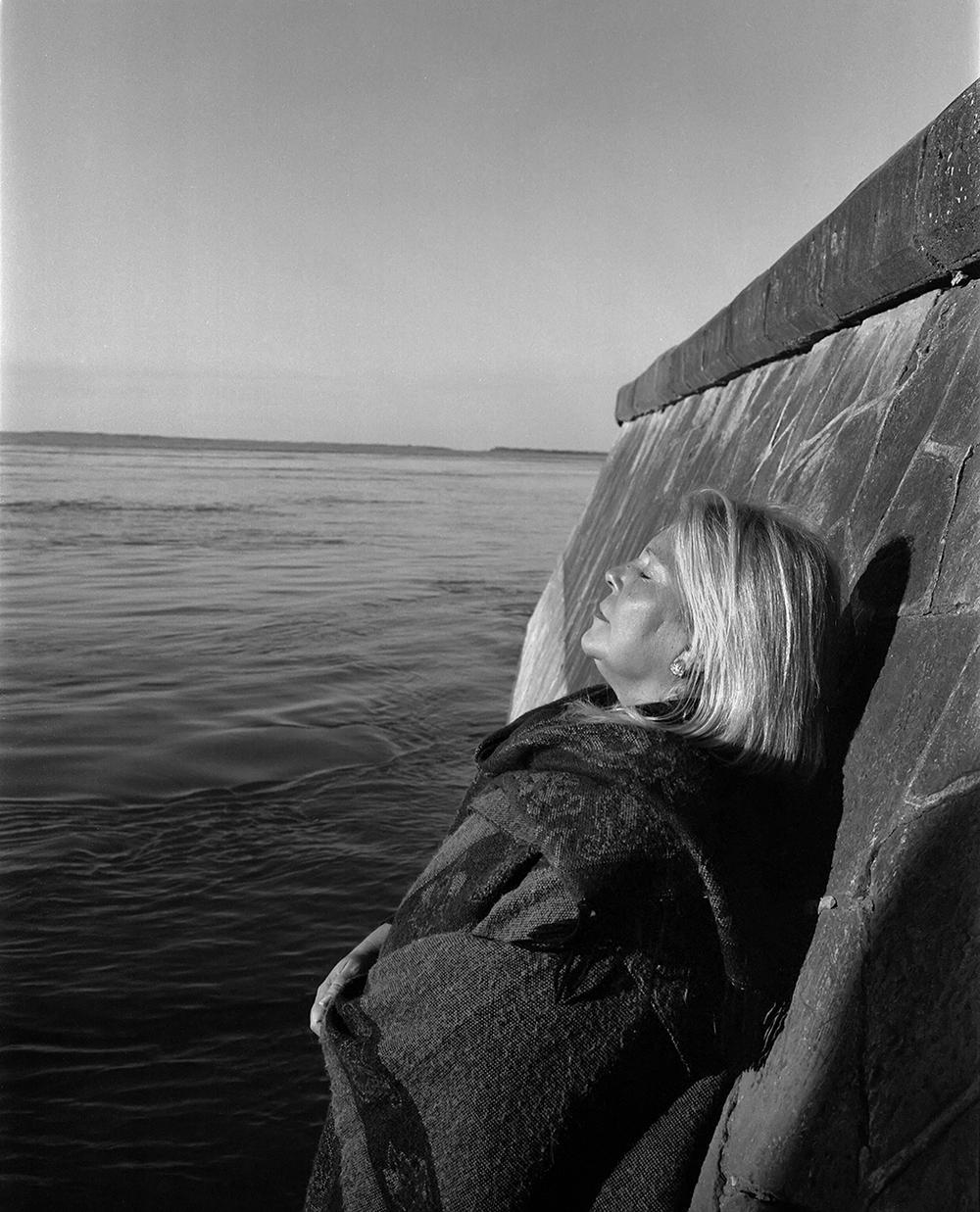Lilita Carrio on the coast of the Paraná River, Argentina, 2008.