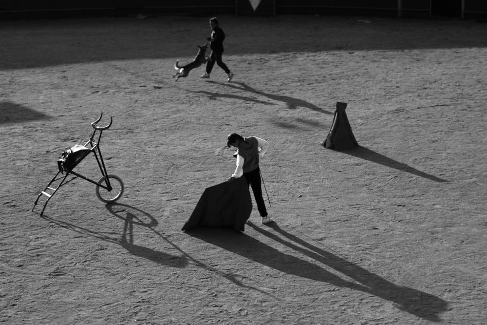 Torero school, Madrid, Spain, 1990.