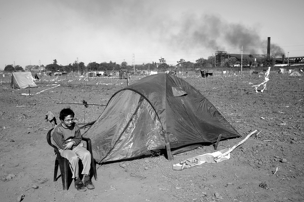 Occupying land for housing, Tucumán, Argentina, 2013