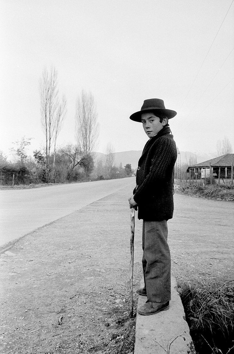 Young peasant, Chile