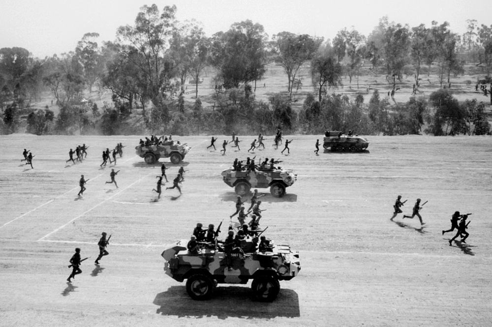 Military manoeuvres Mexico
