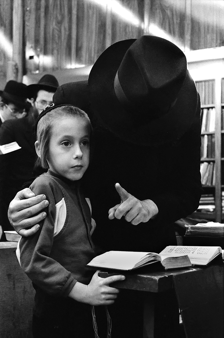 Jewish orthodox community, Brooklyn, New York, 1985