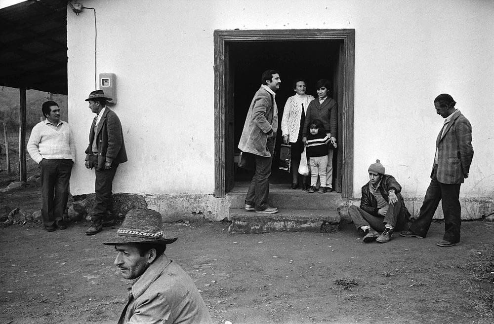Chilean peasants.