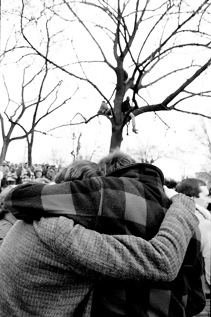 Death of John Lennon - Central Park - 1980