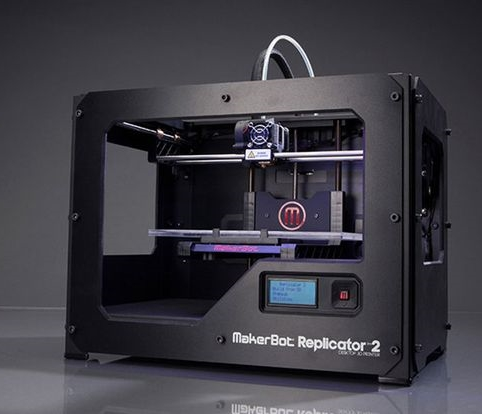 MB Replicator 2. Image courtesy: Makerbot official website.