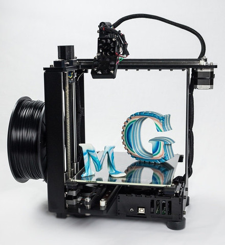 Makergear M2. Image Courtesy: Makergear official website.