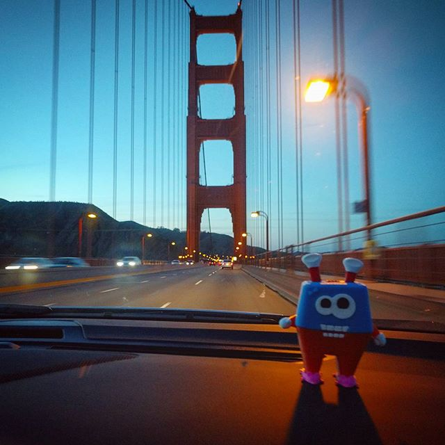 Off to a new adventure: San Francisco here we come! Thanks LA, we had a great time! ・・・・・・・・・・・・・・・ #Yoomix #MIXaYoomix #MyYoomix #toystagram #toys #3Dprinting #3D #3Dprint #3Dprinter #solidworks #3Ddesign #edtech #startup #games #gamedesign #parents #children #learning #play #creative #awesome #makers #entrepreneur #smartoys #Adventure #LA #losangeles #sanfrancisco #SF #goldengatebridge