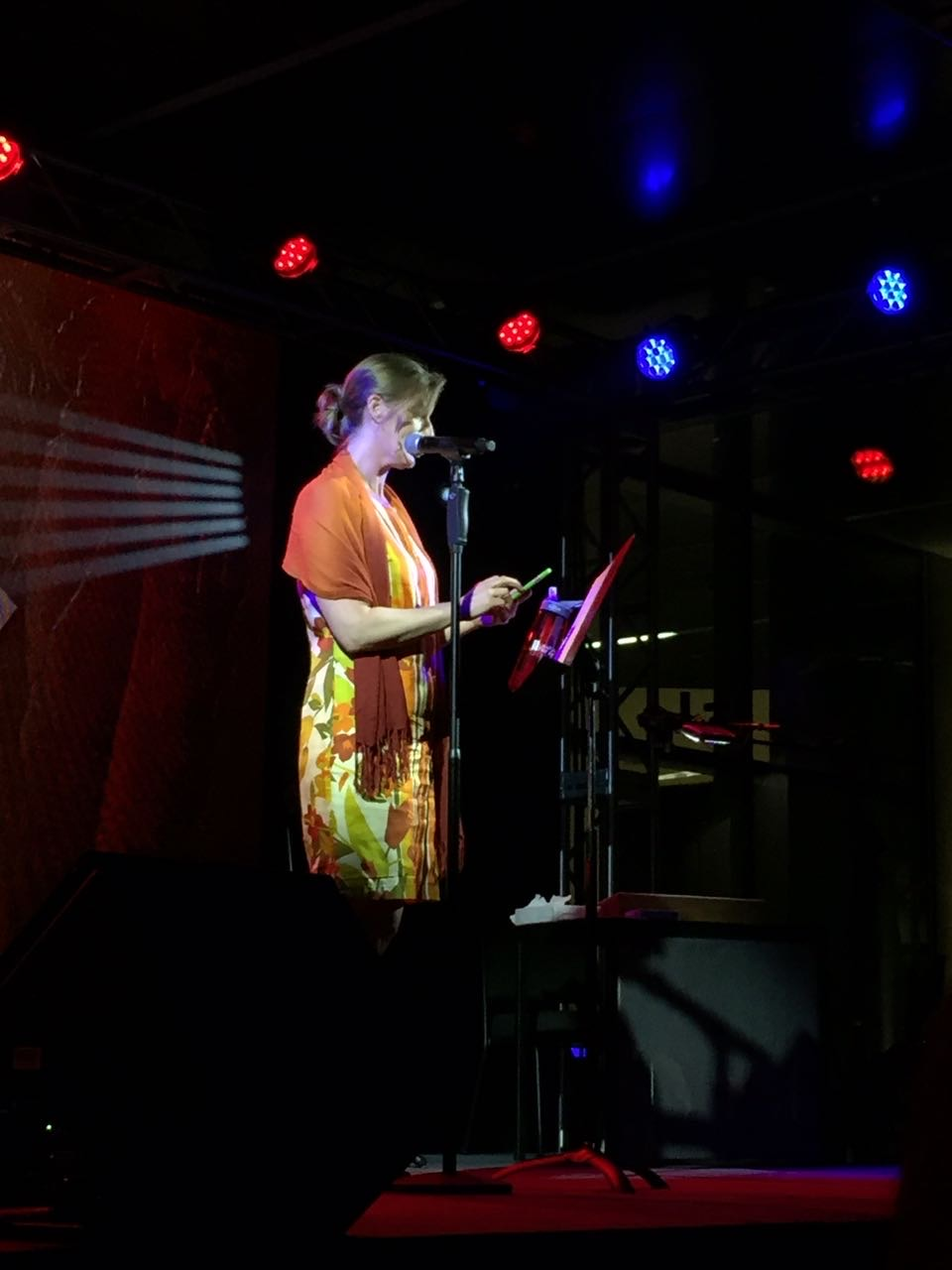 Dina Hardy reading