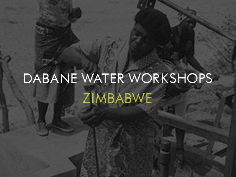 Dabane Water Workshops, Zimbabwe