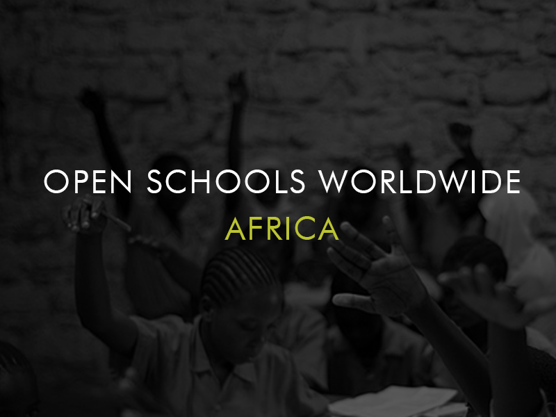 Open Schools Worldwide, Africa.png
