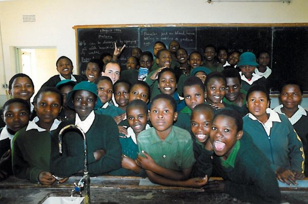 Tim with his form class in 1994