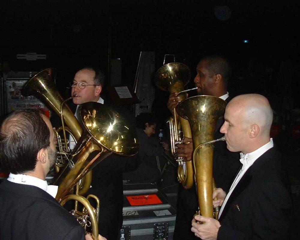 Bruckner rehearsal with the New York Philharmonic