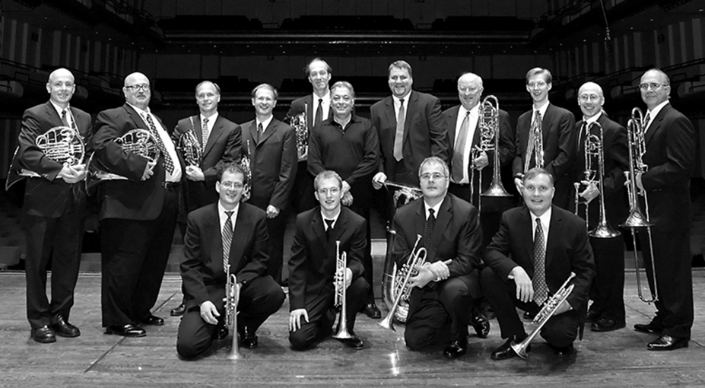 Zubin Mehta and the New York Philharmonic Brass