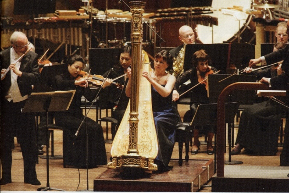 Concert program with the New York Philharmonic