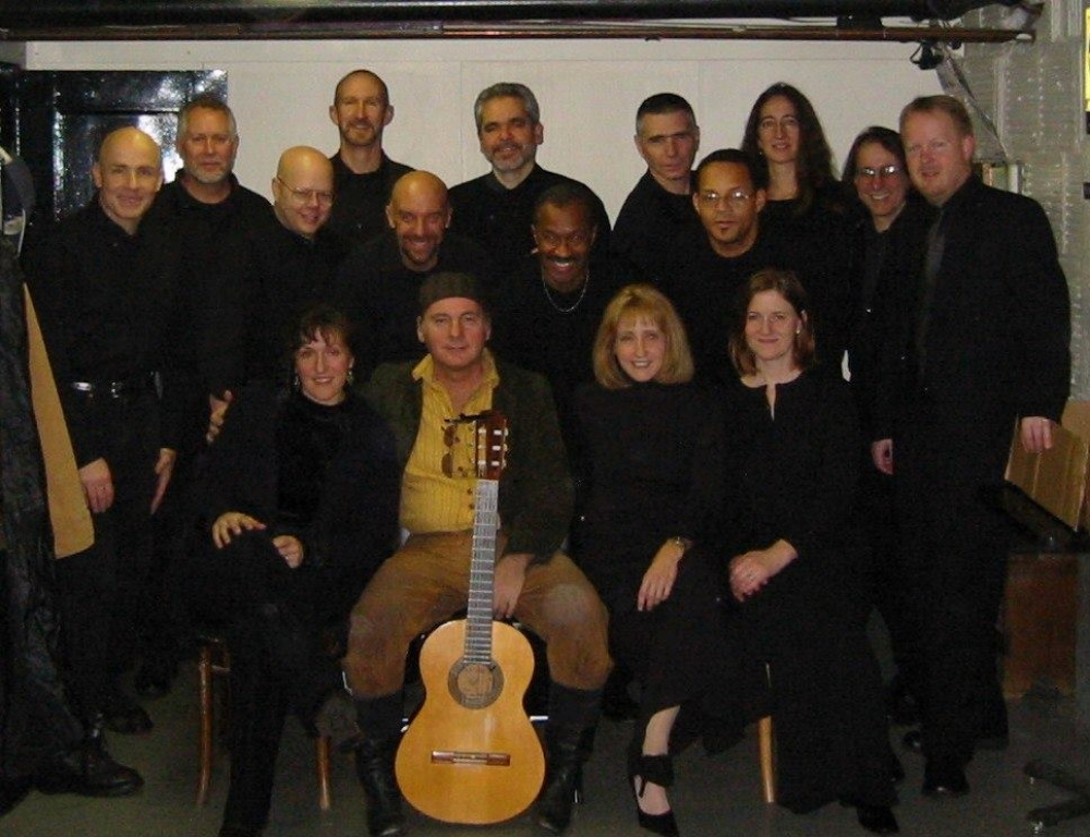 Cast of the Man of La Mancha, Broadway