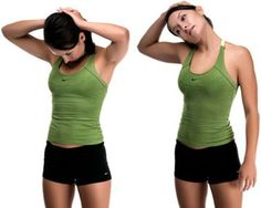 Stretch your neck during your singing sessions to reduce neck & shoulder tension