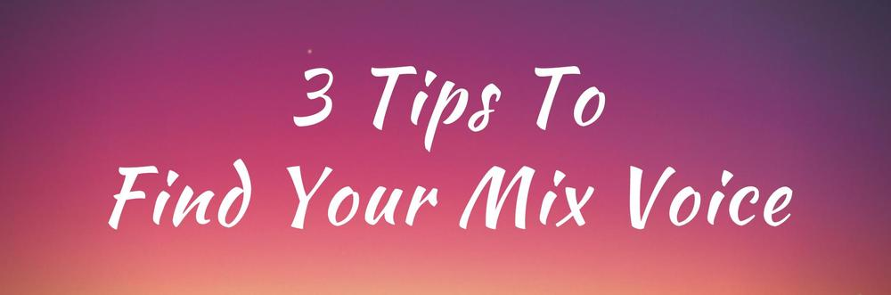 3 Tips To Find Your Mix Voice, by certified vocal coach Roxie Sakura Wallis, I Heart My Voice