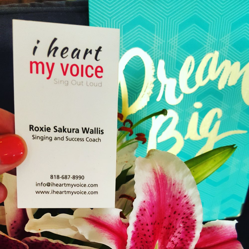What's your big dream for your voice?