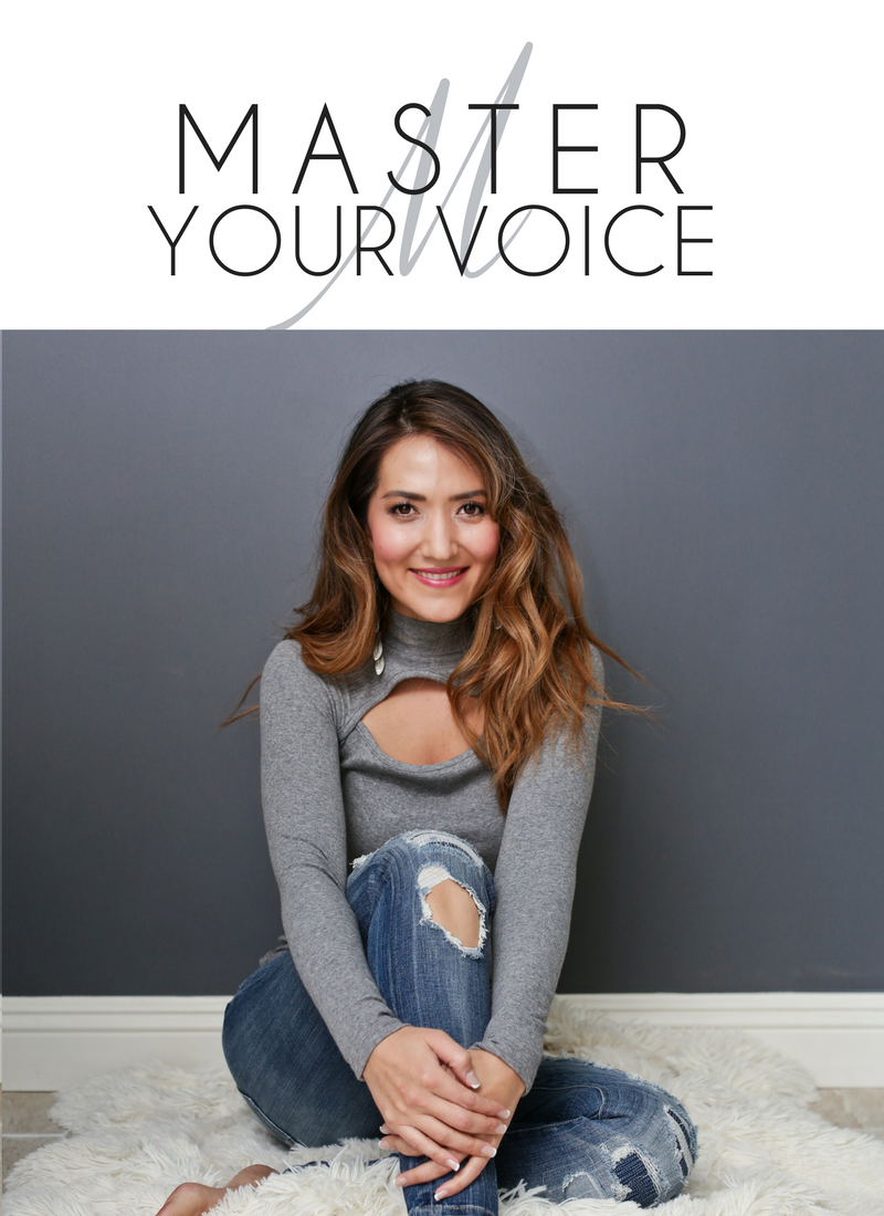 Master Your Voice 90-Day Vocal Coaching Program at I Heart My Voice with Roxie Francis