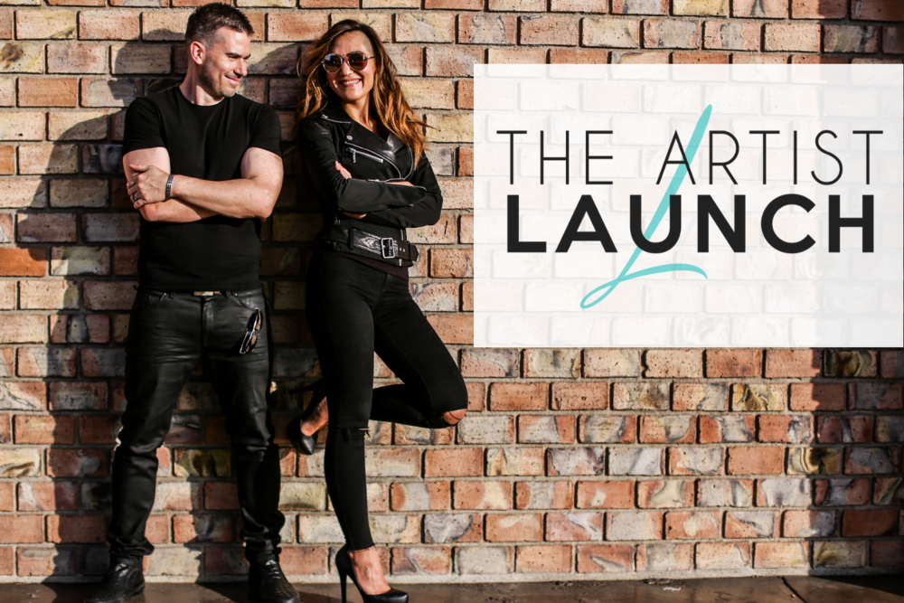The Artist Launch program at I Heart My Voice