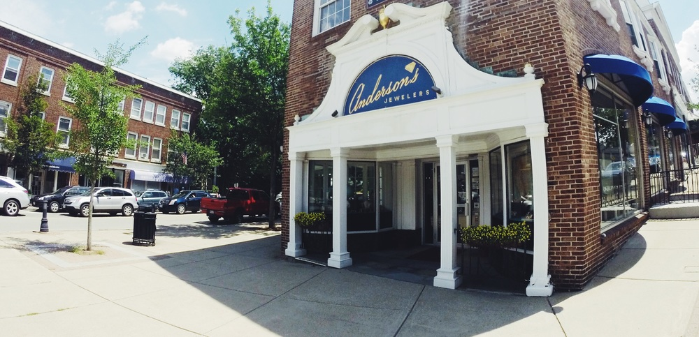 Anderson's jewelers storefront | WELLESLEY MASSACHUSETTS