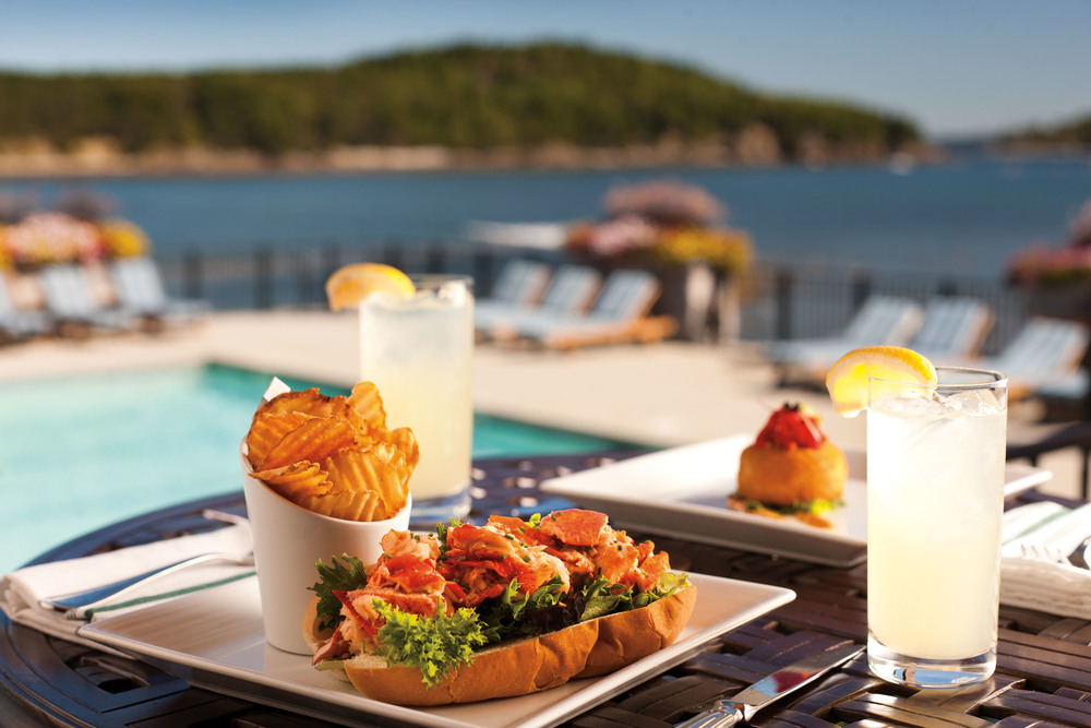 Bar harbor club for Food bar harbor