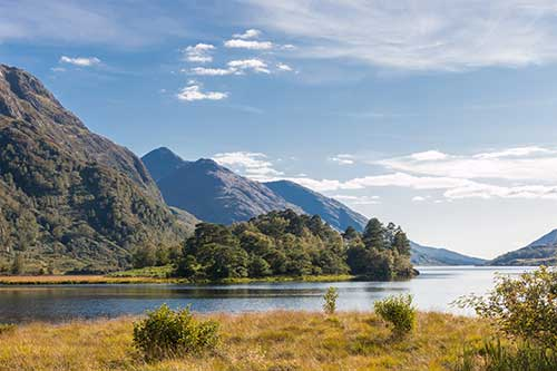 Loch Shiel, Glenfinnan Monument, Scotland