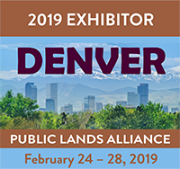 Join us in Denver - The conference and trade show for cooperating associations that work with local, state and national public lands. Click on the picture for more information.