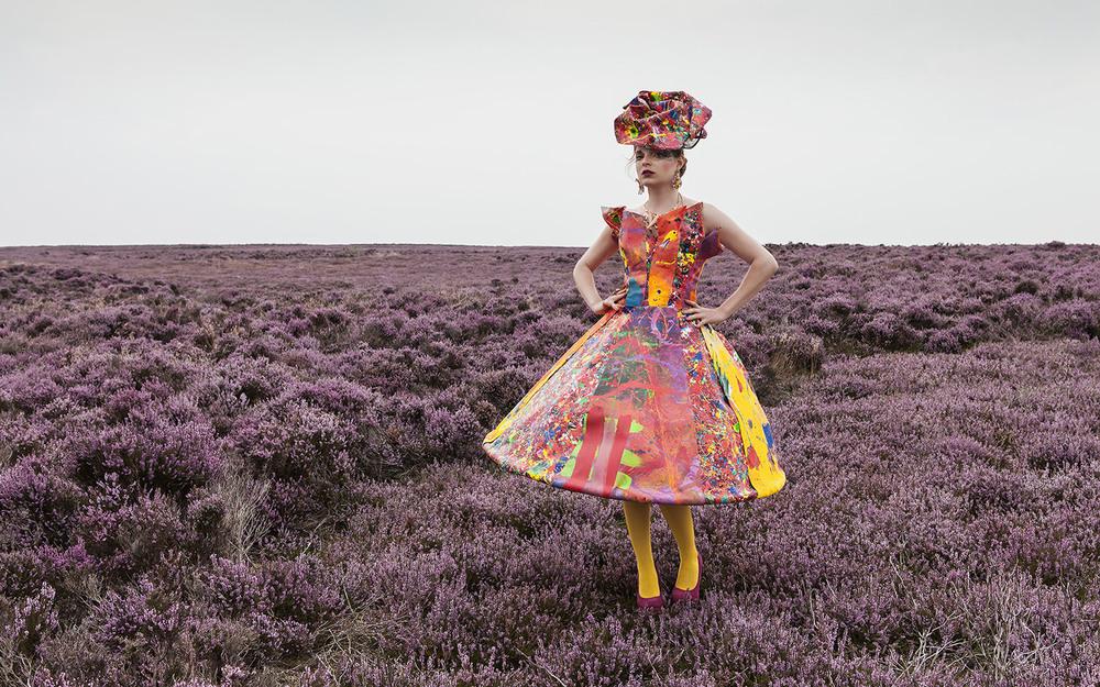 Purple Heather - North Yorkshire Moors