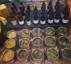 3. Herbal tinctures and salves with brenna morris.
