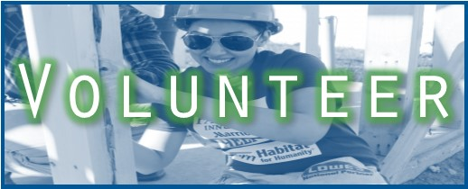 Are you looking for a rewarding volunteer opportunity for you and your group? Help Habitat build homes.  Sign up today.