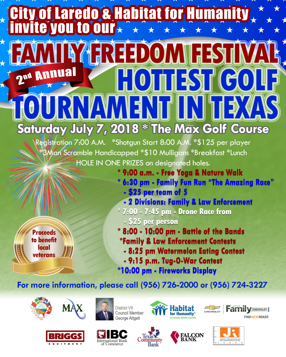 Family Freedom Festival And 2nd Annual Hottest GolfTournament In Texas U2014  Laredo Habitat For Humanity