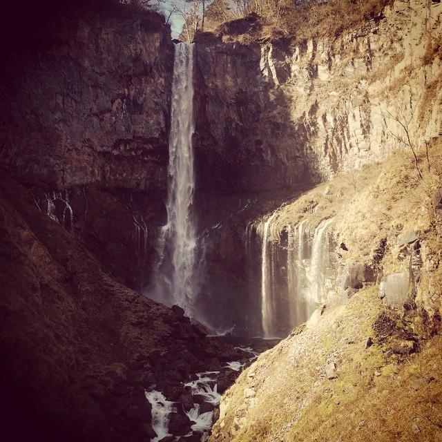 #kegon #falls #japan (στην τοποθεσία 華厳の滝)