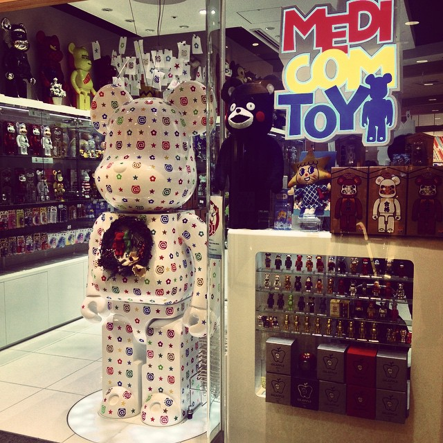 #medicomtoy #be@rbrick #tokyo  (στην τοποθεσία 東京スカイツリー / Tokyo Skytree)