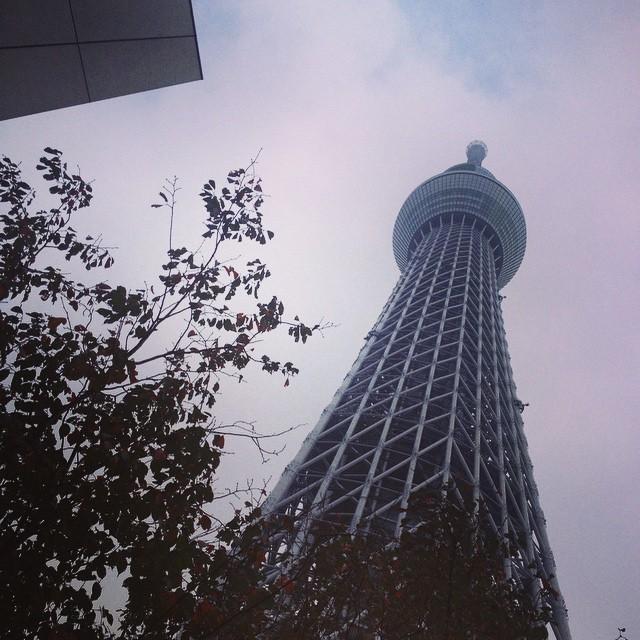 #tokyo #skytree #sky #cloud  (στην τοποθεσία 東京スカイツリー / Tokyo Skytree)