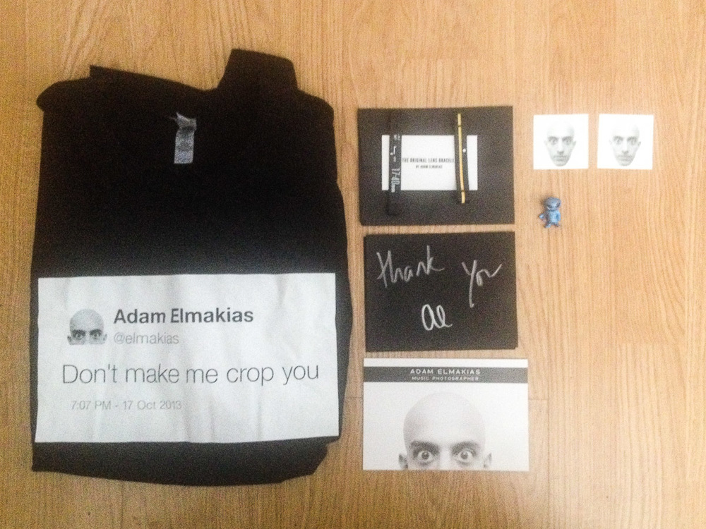 just arrive!!! pro merch from a pro!!! @elmakias #adamelmakias