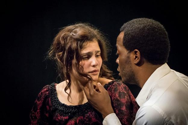 Ivette Dumeng and Reginald L. Wilson in  Miss Julie  | Photo credit: Jonathan Slaff