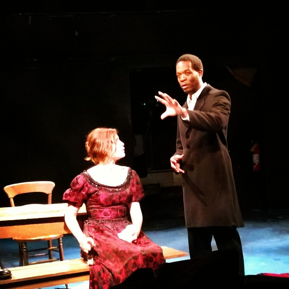Ivette Dumeng and Reginald L. Wilson in Miss Julie